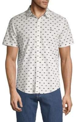Original Penguin Printed Button-Down Shirt