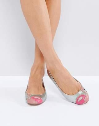 ASOS LAMINGO Flamingo Ballet Flats $40 thestylecure.com