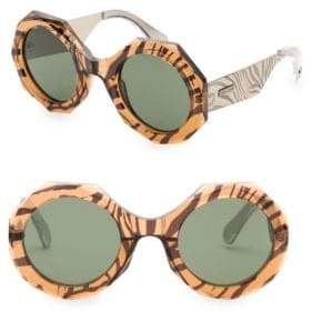 Roberto Cavalli 53MM Round Sunglasses