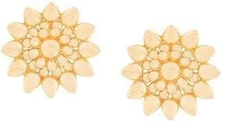 Ileana Makri Eye M By flower plate earring