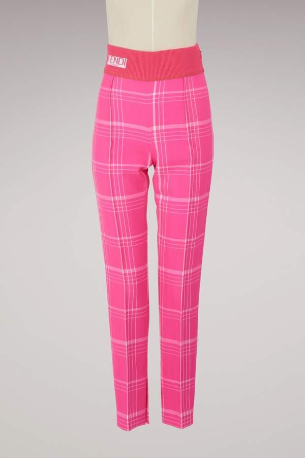 Fendi Straight-cut trouser