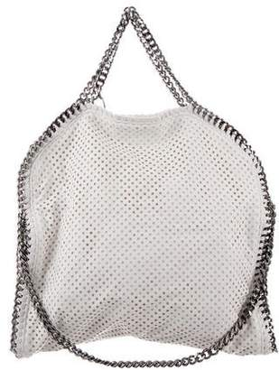 Stella McCartney Perforated Small Falabella Fold-Over Tote