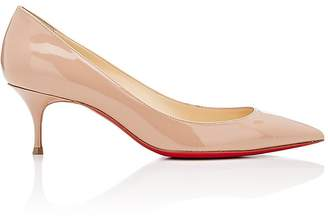 Christian Louboutin Women's Pigalle Follies Kitten-Heel Pumps