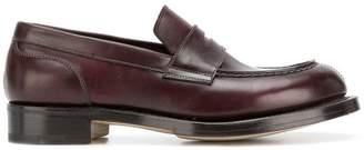 Santoni penny loafers