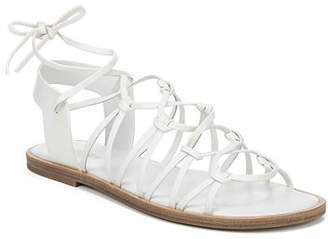 2a3bf41ce White Flat Gladiator Sandals - ShopStyle Canada