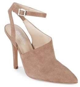 Charles by Charles David Mieko Ankle-Strap Suede Pumps