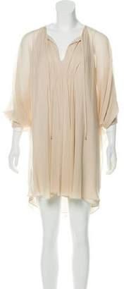 Diane von Furstenberg Silk Kimono Dress