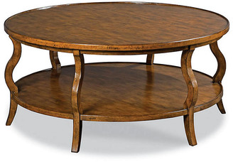One Kings Lane Katula Coffee Table - Dark Cherry