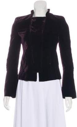 Gucci Velvet Structured Jacket