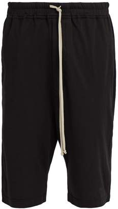 Rick Owens DKSHDW Astaire Pods cotton shorts