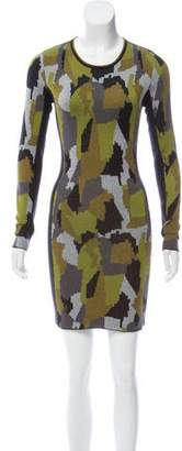 Torn By Ronny Kobo Taylor Knit Mini Dress w/ Tags