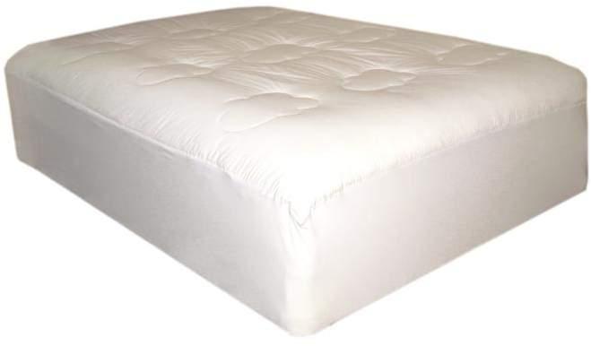 Epoch Hometex, Inc Lofted Cotton-Filled Queen Mattress Pad