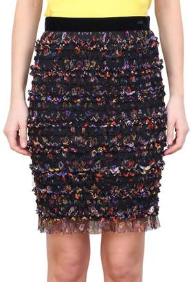 Givenchy Ruffled Tulle Skirt