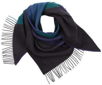 Burberry Striped Cashmere Bandana