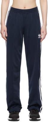 adidas Navy Firebird Track Pants