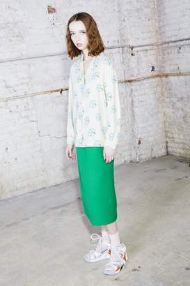 COLLECTION (RUNWAY) Elastic Waist Pencil Skirt
