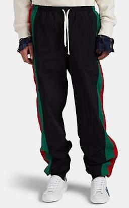 d170ca0c Gucci Men's Striped Oversized Track Pants - Black