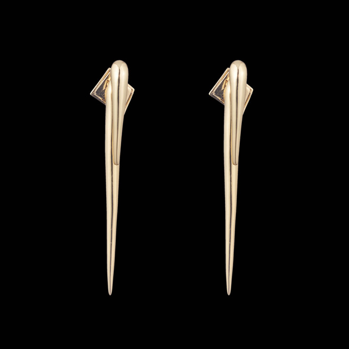 Alexis Bittar Multi-Spike Ear Cuff and Post Earring