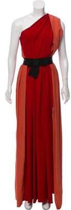 Lanvin Silk Evening Dress