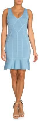 GUESS Sheath Bandage Dress