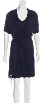 Stella McCartney Short Sleeve Shift Mini Dress