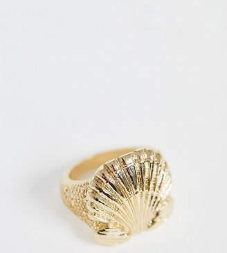 Reclaimed Vintage inspired shell ring