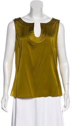 Couture St. John Silk Sleeveless Top w/ Tags