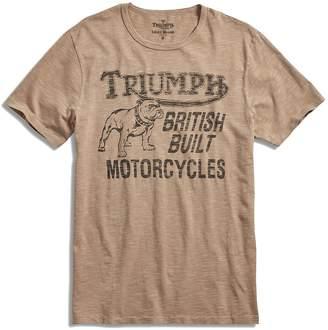 Lucky Brand Men's - Triumph Motorcycle Bulldog Logo T-Shirt
