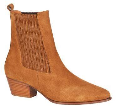 Sandro Amelya Western Ankle Boot
