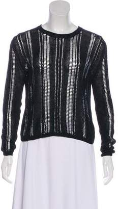 Edun Sheer Linen Sweater
