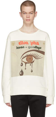 Gucci Off-White Elton John Sweatshirt