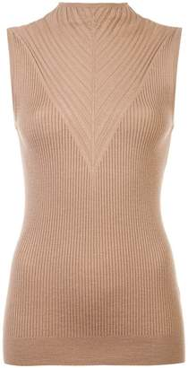 Elie Tahari ribbed tank top