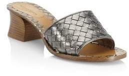 Bottega Veneta Leather Slip-On Sandals