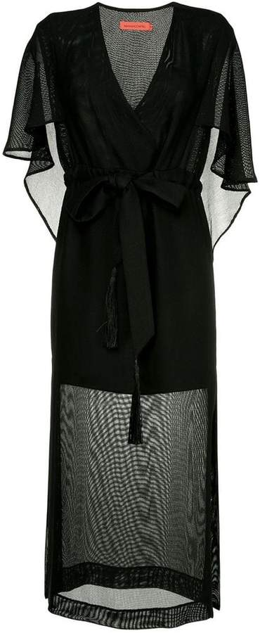 Manning Cartell Private Views cape dress