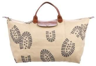 Jeremy Scott x Longchamp Canvas Tote Bag