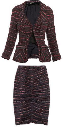 Nina Ricci Boucle wool suit
