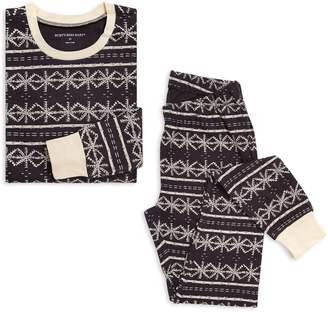 Burt's Bees Frozen Fair Isle Organic Womens Holiday Matching Family Pajamas