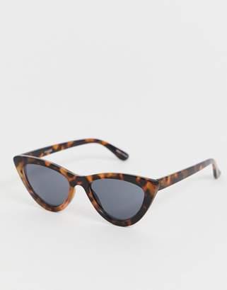 88a8efd5f04 Pieces tortoise shell cateye sunglasses
