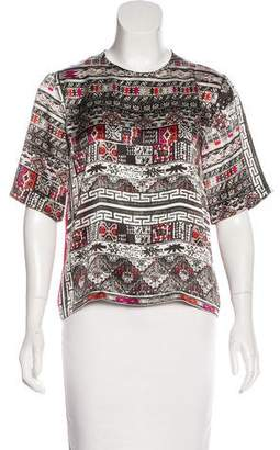 Preen by Thornton Bregazzi Preen Short Sleeve Printed Top
