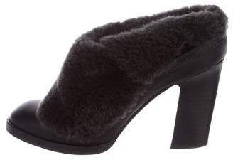 Rag & Bone Shearling Fold-Over Booties