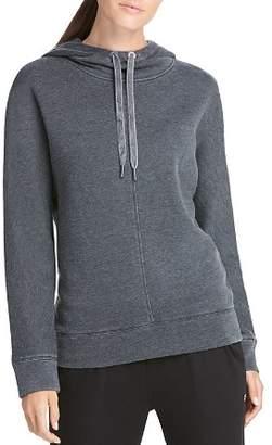Donna Karan Hooded Dolman-Sleeve Sweatshirt