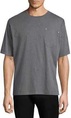 Diesel Black Gold Men's Teoria-Tape Solid T-Shirt