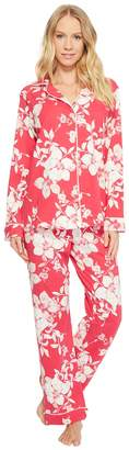 BedHead Long Sleeve Classic Knit Two-Piece Pajama Set Women's Pajama Sets