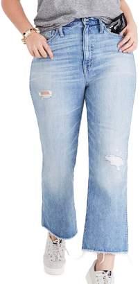 Madewell Rigid Crop Demi Boot Jeans