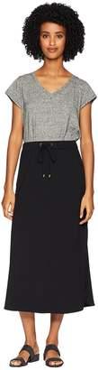 Eileen Fisher Viscose Jersey Drawstring Skirt Women's Skirt