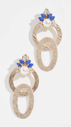 Anton Heunis Interlocking Hoop Earrings