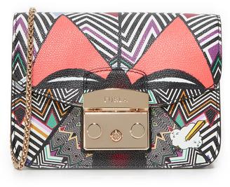 Furla Metropolis Mask Mini Cross Body Bag $378 thestylecure.com