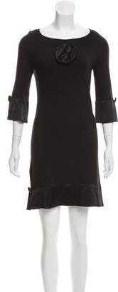Yoana Baraschi Silk Mini Dress