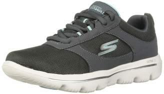 Skechers Women's GO Walk Evolution Ultra-Enhance Sneaker Black/Pink 9 M US