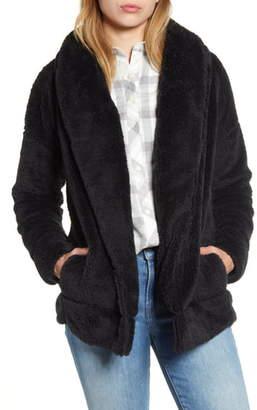 Vineyard Vines Open Front High Pile Fleece Jacket